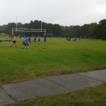 And so it begins. #rugby #canyouseethetorrentialrain