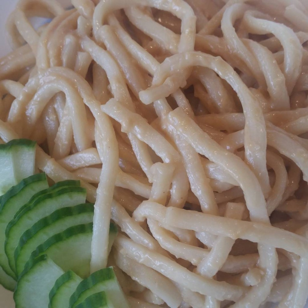 A latergram for everyfuckingnight from Thursday Peanut sesame noodles fromhellip