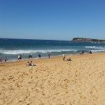 100 surf boats coming in to Collaroy to mark the…