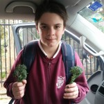 Look what Jasper grew at school!