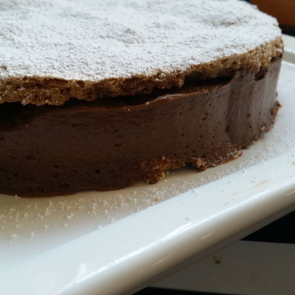 Thatd be a mocha meringue cake
